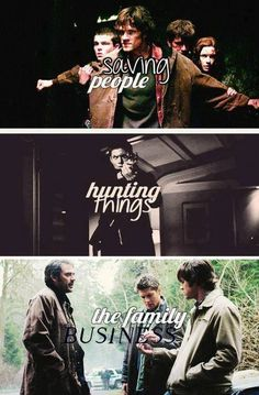 Saving People, Hunting Things, The Family Business
