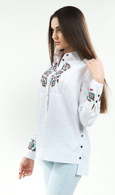 Блуза жіноча біла з вишивкою арт. 137-17 00 купити в Україні і 63a9859702518
