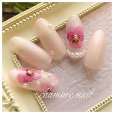 春/ブライダル/デート/女子会/ハンド - chambre nailのネイルデザイン[No.2877472]|ネイルブック