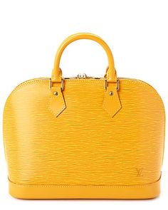 Rue La La — Louis Vuitton Yellow Epi Leather Alma PM