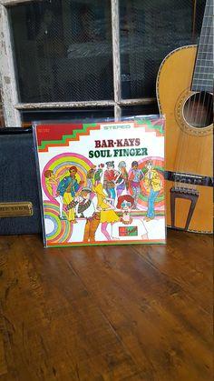 Bar-Kays Soul Finger Album Record LP 1967