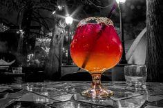 Margarita on the San Antonio Riverwalk. Single-shot RAW, 30-second exposure,…