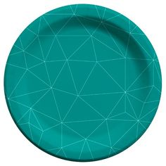 Cheeky Party Pack Snack Plate - Turquoise (60 Count) : Target