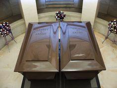 Grant's Tomb - New York City, New York - Ulysses S. Grant  Julia Dent Grant Crypts