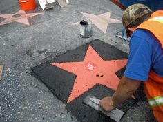 """Walk Of Fame Star"""