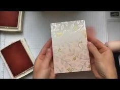 How to achieve an Ombre look using the Springtime Foils DSP from Stampin Up!    www.magpiecreates.com  Sharlene Meyer - Independent Stampin' Up! Demonstrator
