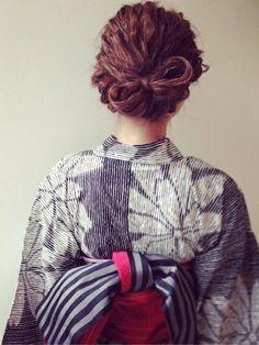 金子真由美/ACQUA aoyama着物・浴衣「 浴衣」Styling looks