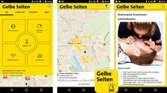 Gelbe Seiten Notfall-App©Gelbe Seiten