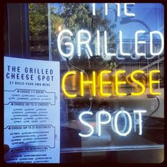 The Grilled Cheese Spot! Santa Ana, Orange County CA- Artist District by the civic center. Amazing Sandwiches and homemade potato chips!!! Bad parking but it's worth it!