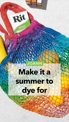 Tie Dye Crafts, Yarn Crafts, Diy Crafts, Easy Diy Projects, Craft Projects, Craft Ideas, How To Dye Fabric, Dyeing Fabric, Breien