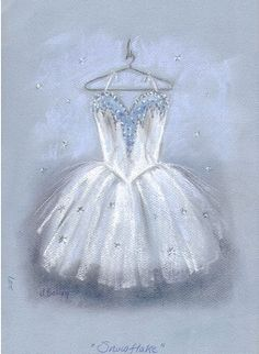 Nutcracker costume Snowflake! I wish i could draw that!!