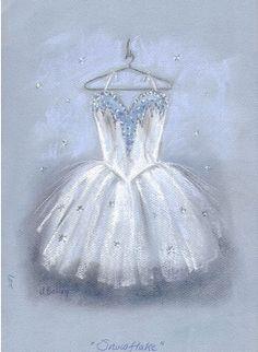 Nutcracker costume Snowflake! I wish i could draw that!!