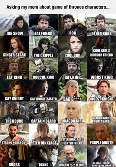 Easy Game Of Thrones Guide. so funny