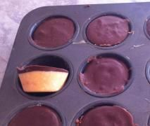 Raw Cacao Peanut Butter Cups {Thermomix}
