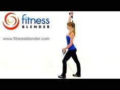 27 Minute At Home Resistance Band Workout for the Upper Body -- Exercise Band Training