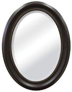Amazon.com   MCS Bronze Oval Mirror Frame, 16 By 23 Inch Mirror