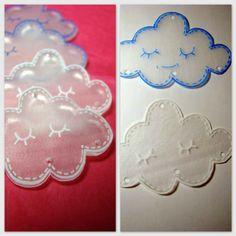 nuages en plastique fou