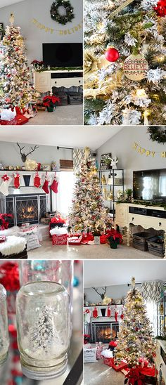 100 favorite christmas decorating ideas for every room in your home part 2 hometalk diy pinterest farmhouse christmas kitchen christmas entryway