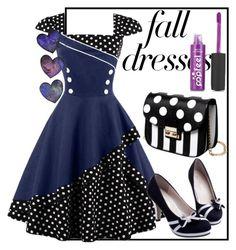"""Pin Up Vintage Dresses"" by jasmina-ishak ❤ liked on Polyvore featuring vintage"