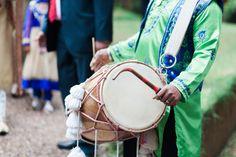Indian Wedding Dhol Drummer