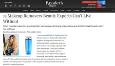 Readers digest september 1991 stuff you can buy me pinterest readers digest 12 makeup removers beauty experts cant live without fandeluxe Images