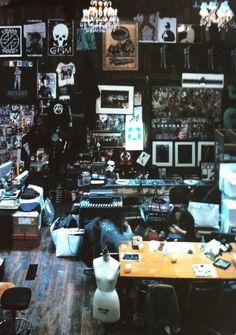 Jun Takahashi's studio