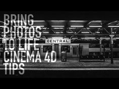 BRING PHOTOS TO LIFE CINEMA 4D TIPS - YouTube