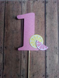 Pink Lemonade Cake Topper by LemonSugarStudios on Etsy, $6.00 First Birthday Party Themes, 1st Birthday Cakes, Baby 1st Birthday, Birthday Ideas, Pink Lemonade Cake, Pink Parties, Baby Party, Evie, Minions