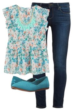 """""""Untitled #128"""" by kayladaas on Polyvore featuring Paige Denim, MANGO, INC International Concepts and TOMS"""