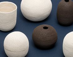 Pineal Series by Atelier Kas Ceramic Tools, Patterns In Nature, Things To Come, Profile, Behance, Ceramics, Pure Products, Gallery, Check