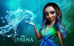 Name: Syrena. Age: 17. Powers: Land and Water. Land meaning earth.