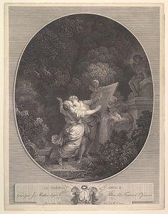 Le Serment d'Amour.  After Jean Honoré Fragonard  (French, Grasse 1732–1806 Paris)