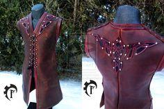Eagle Celtic Vest by Feral-Workshop on deviantART