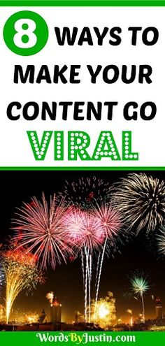 8 Ways to Make Your Content Go Viral. Everyone wants their content to go viral, to be read, shared, and enthused about. So how can you make this happen? Content Marketing Strategy, Inbound Marketing, Internet Marketing, Business Marketing, Affiliate Marketing, Media Marketing, Digital Marketing, Web Design, Blog Design