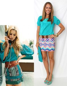 J's Everyday Fashion: Today's Everyday Fashion: The Aztec Skirt