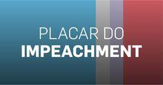 Confira diariamente as intenções declaradas de voto dos senadores no processo de impeachment da presidente Dilma Rousseff