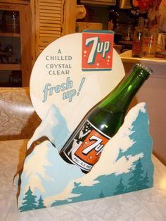 7up Soda Bottle Display Sign | eBay