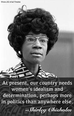 Crazy Feminist Quotes | Shirley-Chisholm.jpg