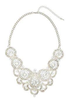 Le collier fantaisie #H&M déniché dans le #Stylist grâce à #Overlay