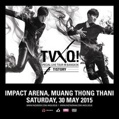 東方神起タイ・バンコク公演「TVXQ! SPECIAL LIVE TOUR – T1ST0RY – IN BANGKOK」が2015年5月30日開催