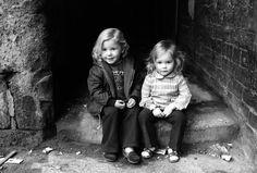 Two girls in Glasgow, Harry Benson