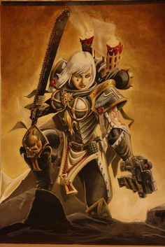 The art of sisters - Page 4 - + ADEPTA SORORITAS + - The Bolter and Chainsword