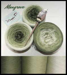 """Mangrove"" BW/Seide 4-fädig"