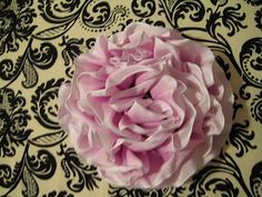 Wired Ribbon Flower Tutorial