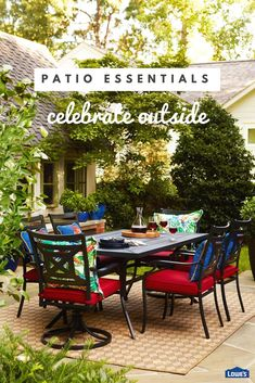 Etonnant Find A Variety Of Quality Patio Furniture At Loweu0027s. Shop Outdoor Furniture,  Patio Sets, Patio Umbrellas, Patio Furniture Covers And Cushions, And More.