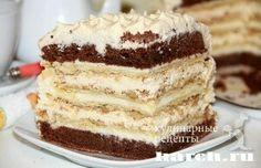 Торт «Крещатый Яр» Пошаговый рецепт с фото.