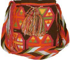 Wayuu Medium Bag Design Fruit - CaritoCaró