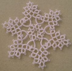 Needle Tatting Instructions | TATTED SNOWFLAKE PATTERNS | Browse Patterns