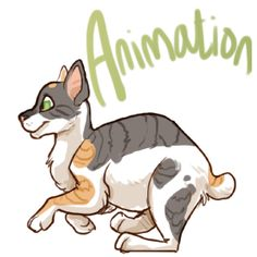 Wanted to see how reasonable it might be to do all my animation in photoshop for future projects so I did a quick test with my kitty character Marco (: . Animation In Photoshop, Disney Characters, Fictional Characters, Strawberry, Kitty, Deviantart, Animals, Little Kitty, Animales