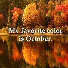 We ♡ October...